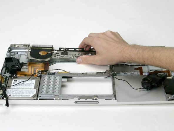 Lift the heat sink and fan assembly out of the computer.