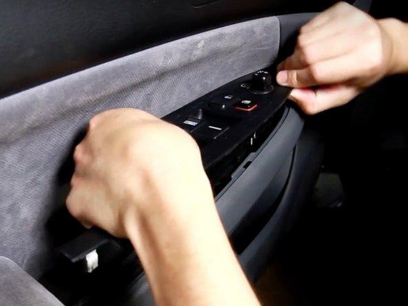 2003-2007 Honda Accord Drivers Door Power Window Switch Replacement
