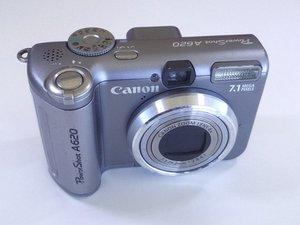 Canon PowerShot A620 Repair
