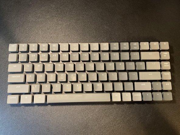Keychron K3 Ultra-slim Wireless Mechanical Keyboard Disassembly
