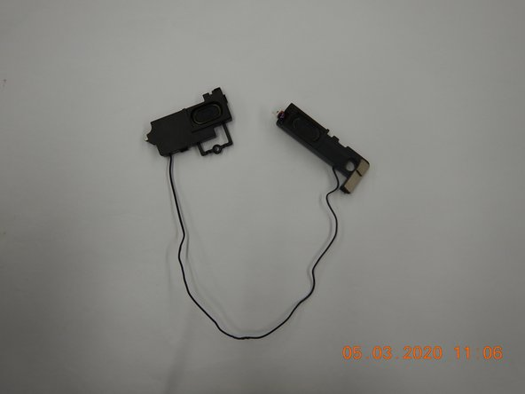 Dell Inspiron 13-7353 Speakers Replacement