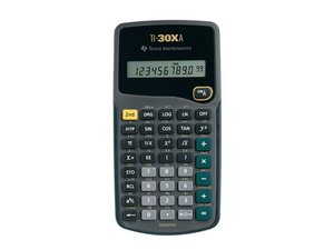 Texas Instruments TI-30Xa Repair