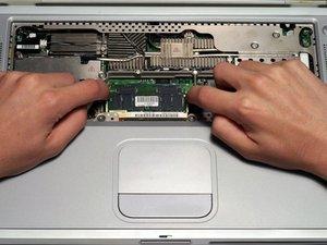 PowerBook G4 Titanium DVI RAM Replacement