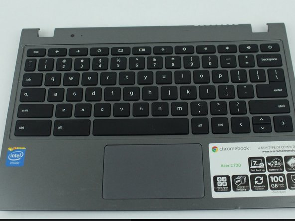 Acer Chromebook C720-2420 Keyboard Replacement