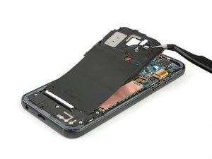 Reemplazo de la tapa de la placa madre incluso la antena NFC
