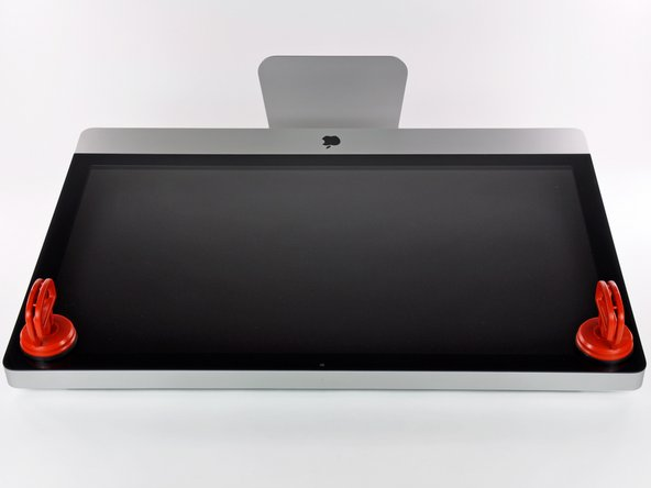 iMac Intel 27インチ EMC 2390のガラスパネルの交換