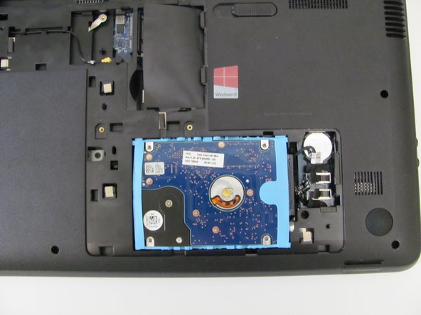 HP 2000 - 2D22DX Hard Drive Replacement