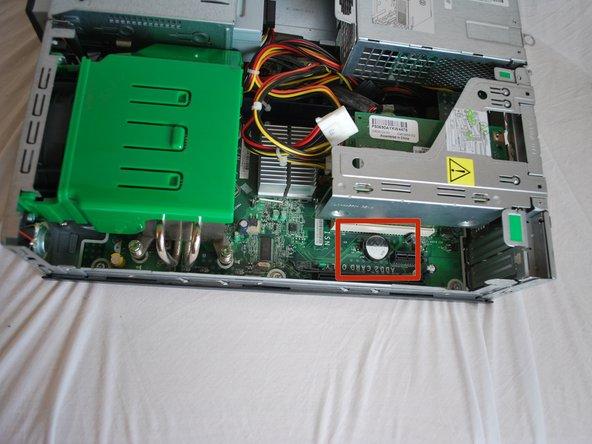 HP rp5700 Repair iOS battery Replacement