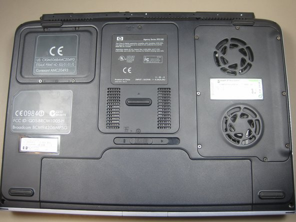 HP Pavilion ZD7000 Wi-Fi Card Replacement