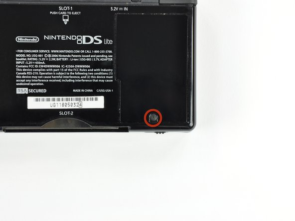 Nintendo DS Lite Battery Replacement