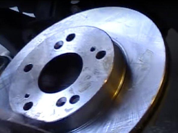 2008-2012 Honda Accord Brake Rotors And Pads Replacement