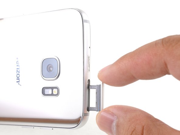 Samsung Galaxy S7 Edge SIM Card Tray Replacement