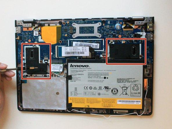 Lenovo Ideapad Yoga 2 11 Speakers Replacement