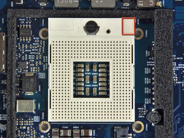Processors are extremely sensitive to electrostatic discharge. Only handle your processor by its edges.