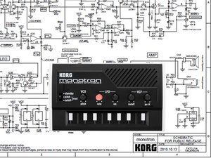 KORG Monotron Teardown