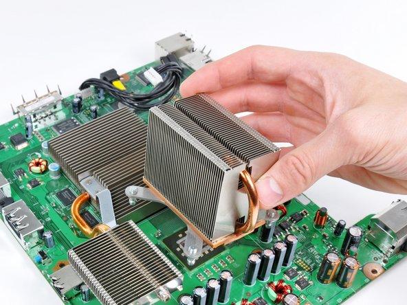 Remove the CPU heat sink.