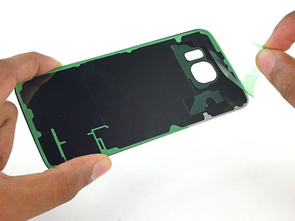 Samsung Galaxy S6 Rear Glass Adhesive Replacement