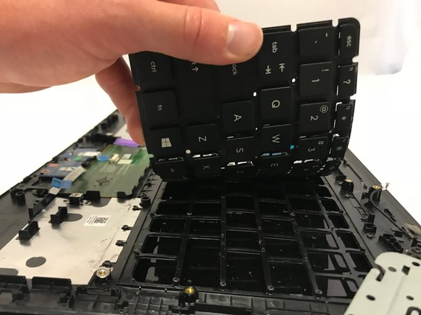 HP 15-ac158dx Keyboard Replacement