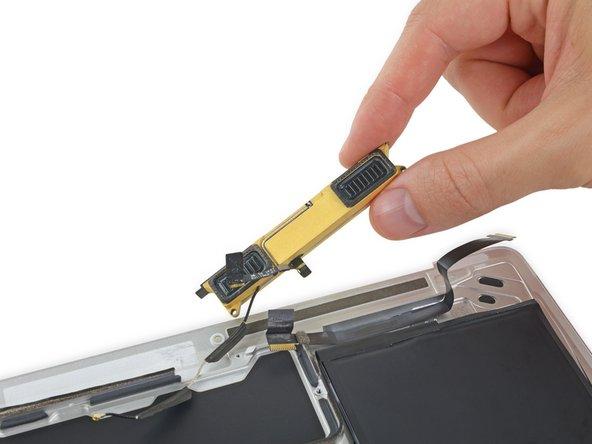 Retina MacBook 2016右側スピーカーの交換