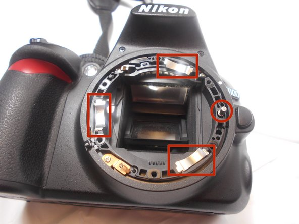 Reseat or replace the lens mounting ring and reassemble.