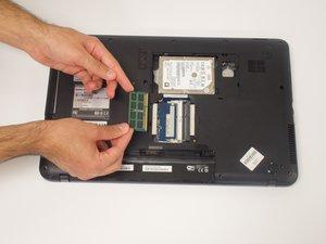 Toshiba Satellite C875-S7304 RAM Replacement