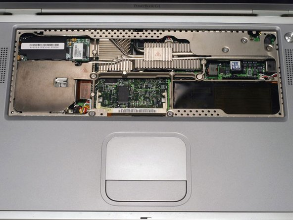 PowerBook G4 Titanium Onyx DVD Drive Replacement