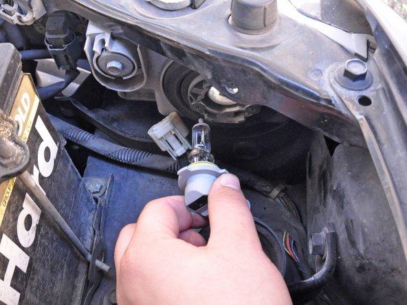 1998-2002 Honda Accord Headlight Bulb Replacement