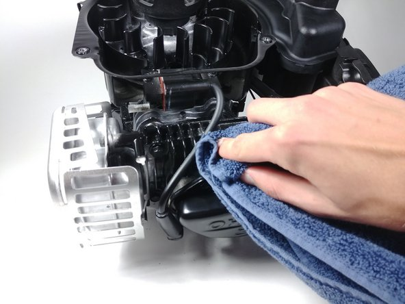 Cleaning/Degreasing Heat Sink