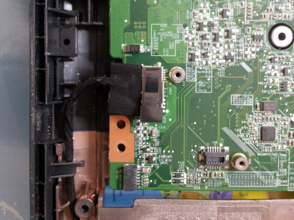 Now remove the SATA dock from the dvd player.