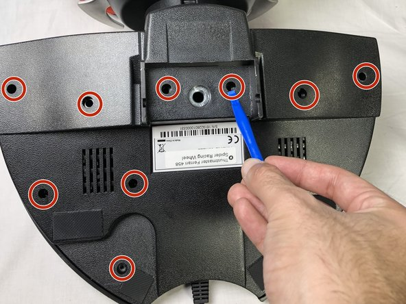Remove the black 10mm using a JIS #1 screw driver.