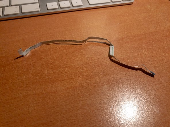 Even if you have to replace it, retain the old cable in order to have a reference of where and how to bend the replacement for getting it back in place as intended.
