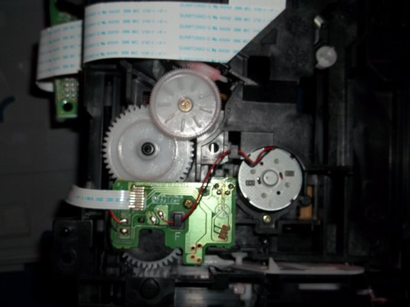 How to clean Magnavox MWD200F gears