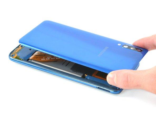 Reemplazo de la tapa trasera del Samsung Galaxy A50