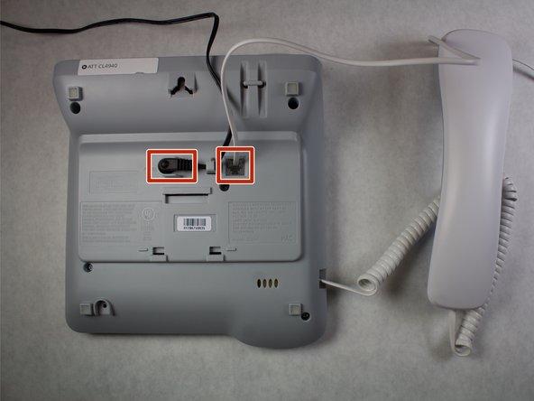 ATT CL4940 Internal Microphone Replacement