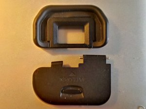 Eye piece and Battery door