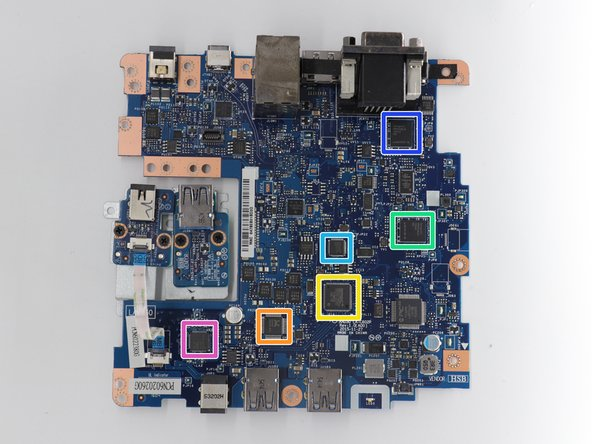 One main board with two connector boards.