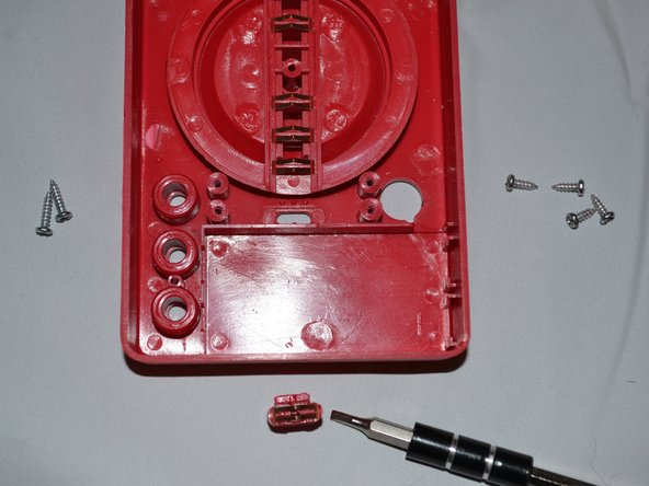 Gently remove switch from device by lifting upward.