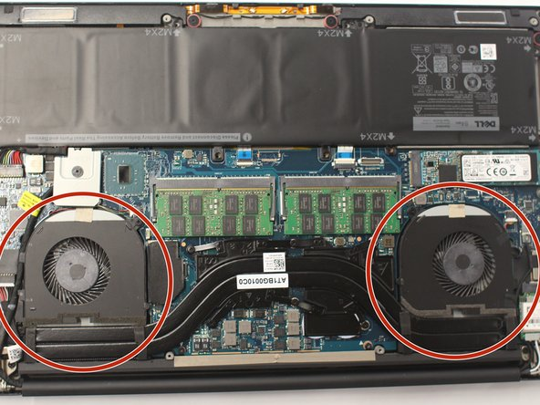 Dell XPS 15 9550 Cooling Fan(s) Replacement