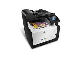 HP LaserJet CM1415fnw Printer Repair