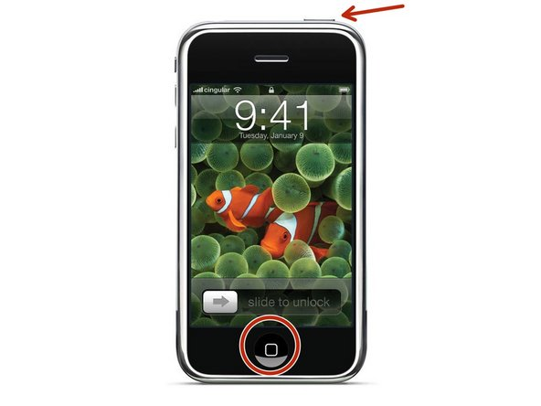 How to Force Restart an iPhone 3G