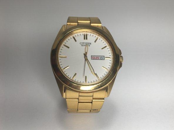 Citizen Men's Watch 1102 Series Hands Replacement