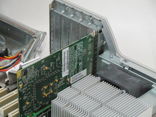 Power Mac G4 Quicksilver video adapter card replacement