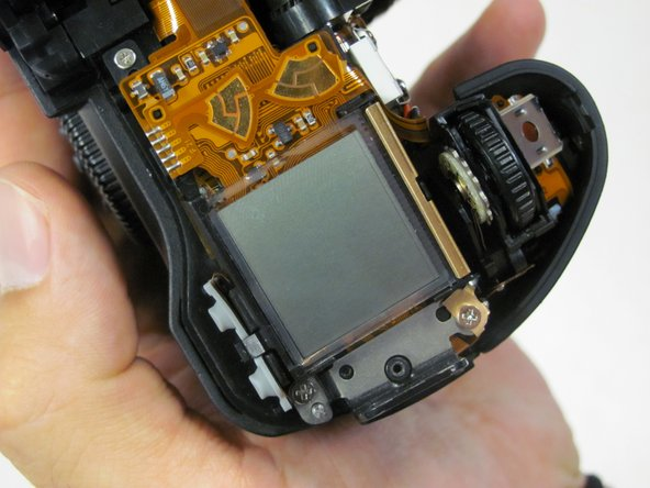 Canon EOS 30 LCD Screen Replacement