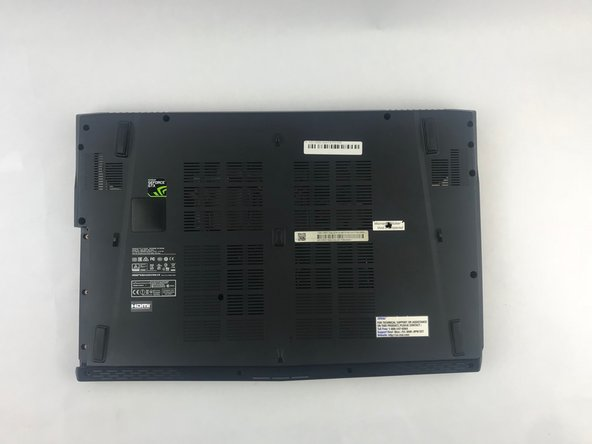 MSI GE62 Apache Pro 004 Battery Replacement