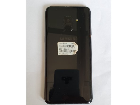 Samsung Galaxy A8(2018) Coque arrière Replacement