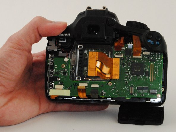 Canon EOS Rebel T5 Motherboard Replacement