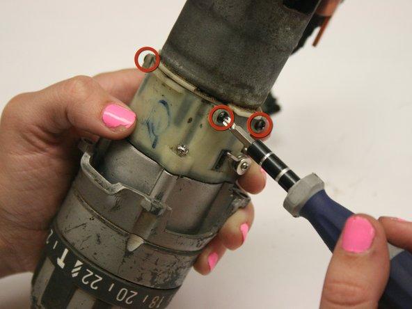Prepare to remove the gear chamber.