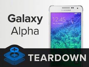 Samsung Galaxy Alpha Teardown