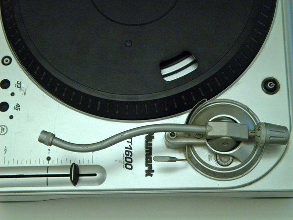 Numark TT1600 Tone Arm Replacement