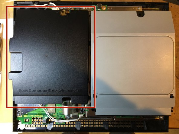 After completing step 7 of that guide, remove the power supply and continue from this step.